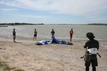 Resultado de imagen para armado del kite con respecto al viento direccion